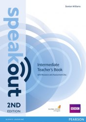 Speakout (2nd Edition) Intermediate Teacher's Book with CD / Підручник для вчителя