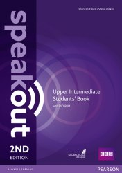 Speakout (2nd Edition) Upper-Intermediate Student's Book with DVD / Підручник для учня