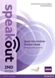Speakout (2nd Edition) Upper-Intermediate Teacher's Book with CD / Підручник для вчителя
