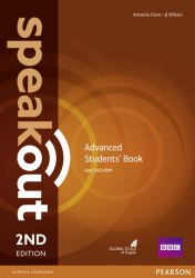 Speakout (2nd Edition) Advanced Student's Book with DVD / Підручник для учня