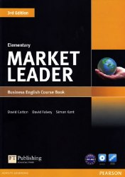 Market Leader (3rd Edition) Elementary Course Book with DVD-ROM / Підручник для учня