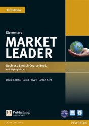 Market Leader (3rd Edition) Elementary Course Book with DVD and MyLab Pack / Підручник для учня