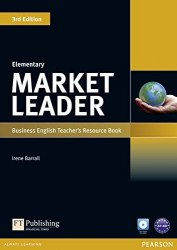 Market Leader (3rd Edition) Elementary Teacher's book with Test Master CD-ROM / Підручник для вчителя