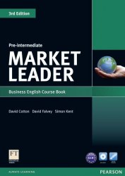 Market Leader (3rd Edition) Pre-Intermediate Course Book with DVD-ROM / Підручник для учня