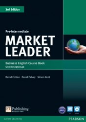 Market Leader (3rd Edition) Pre-Intermediate Course Book with DVD and MyLab Pack Pearson