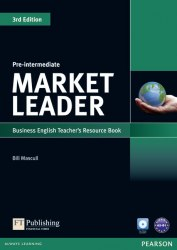 Market Leader (3rd Edition) Pre-Intermediate Teacher's book with Test Master CD-ROM Pearson