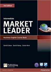 Market Leader (3rd Edition) Intermediate Course Book with DVD-ROM / Підручник для учня
