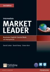 Market Leader (3rd Edition) Intermediate Course Book with DVD and MyLab Pack / Підручник для учня