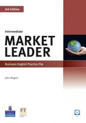 Market Leader (3rd Edition) Intermediate Practice File with Audio CD / Робочий зошит