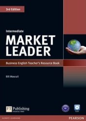 Market Leader (3rd Edition) Intermediate Teacher's book with Test Master CD-ROM / Підручник для вчителя