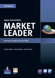 Market Leader (3rd Edition) Upper-Intermediate Course Book with DVD-ROM / Підручник для учня