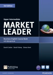 Market Leader (3rd Edition) Upper-Intermediate Course Book with DVD and MyLab Pack / Підручник для учня