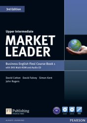 Market Leader (3rd Edition) Upper-Intermediate Flexi Course Book 1 with DVD and Audio CD / Підручник для учня з зошитом