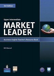 Market Leader (3rd Edition) Upper-Intermediate Teacher's book with Test Master CD-ROM / Підручник для вчителя