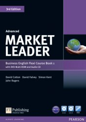 Market Leader (3rd Edition) Advanced Flexi Course Book 1 with DVD and Audio CD Pearson