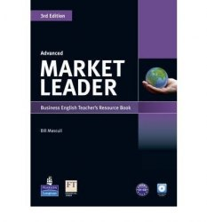 Market Leader (3rd Edition) Advanced Teacher's book with Test Master CD-ROM Pearson