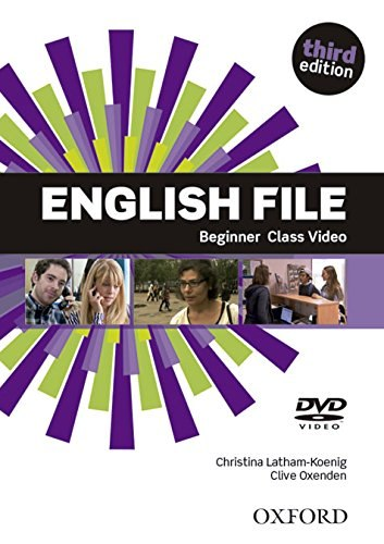 English File (3rd Edition) Beginner Class DVD / DVD диск