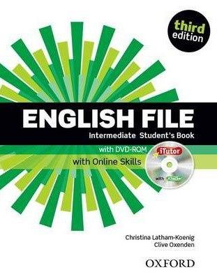 English File (3rd Edition) Intermediate Student's Book / iTutor DVD-ROM and Online Skills / Підручник для учня