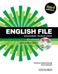 English File (3rd Edition) Intermediate Student's Book / iTutor DVD-ROM and Online Skills / Підручник для учня