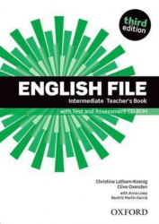 English File (3rd Edition) Intermediate Teacher's Book with Test and Assessment CD-ROM / Підручник для вчителя