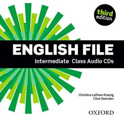 English File (3rd Edition) Intermediate Class Audio CDs / Аудіо диск