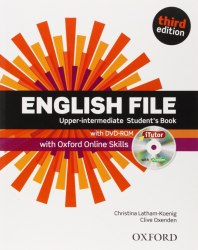English File (3rd Edition) Upper-Intermediate Student's Book with iTutor DVD-ROM and Oxford Online Skills / Підручник для учня