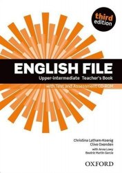 English File (3rd Edition) Upper-Intermediate Teacher's Book with Test and Assessment CD-ROM / Підручник для вчителя
