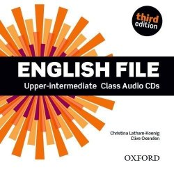 English File (3rd Edition) Upper-ntermediate Class Audio CDs / Аудіо диск