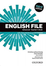 English File (3rd Edition) Advanced Teacher's Book with Test and Assessment CD-ROM / Підручник для вчителя