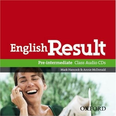 English Result Pre-Intermediate Class Audio CDs / Аудіо диск