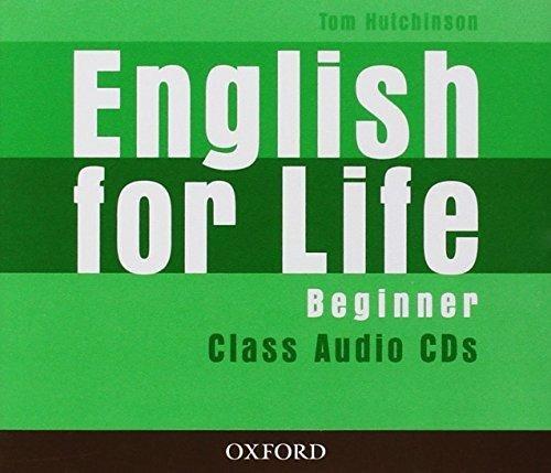 English for Life Beginner Class Audio CDs / Аудіо диск