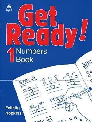Get Ready! 1 Numbers Book / Зошит для математичних прописів