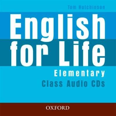 English for Life Elementary Class Audio CDs / Аудіо диск