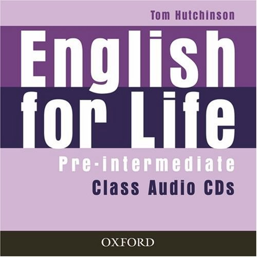 English for Life Pre-Intermediate Class Audio CDs / Аудіо диск