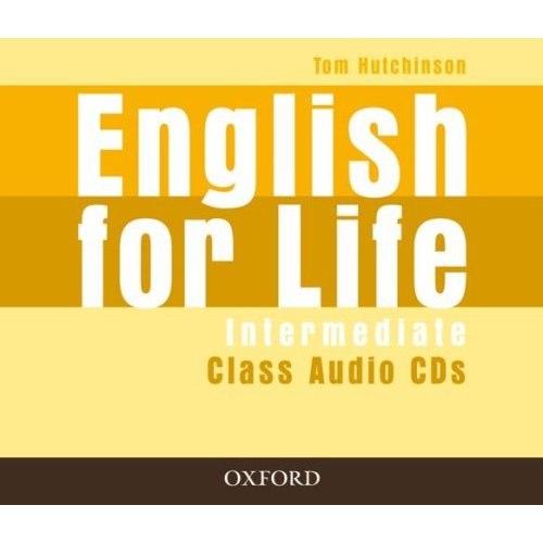English for Life Intermediate Class Audio CDs / Аудіо диск