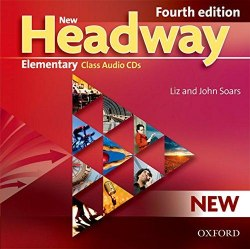 New Headway (4th Edition) Elementary Class Audio CDs / Аудіо диск