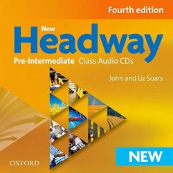 New Headway (4th Edition) Pre-Intermediate Class Audio CDs / Аудіо диск