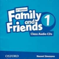 Family and Friends 1 (2nd Edition) Class CD / Аудіо диск
