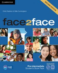 Face2face (2nd Edition) Pre-Intermediate Student's Book with DVD-ROM and Online Workbook / Підручник для учня