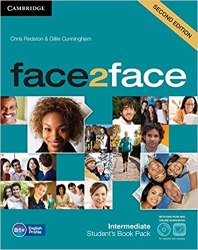 Face2face (2nd Edition) Intermediate Student's Book with DVD-ROM and Online Workbook / Підручник для учня