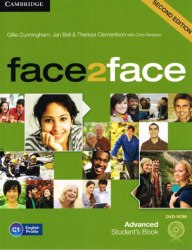 Face2face (2nd Edition) Advanced Student's Book with DVD-ROM / Підручник для учня