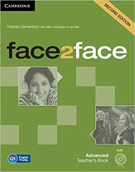 Face2face (2nd Edition) Advanced Teacher's Book with DVD / Підручник для вчителя