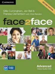 Face2face (2nd Edition) Advanced Class Audio CDs / Аудіо диск