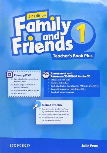 Family and Friends 1 (2nd Edition) Teacher's Book Plus / Підручник для вчителя