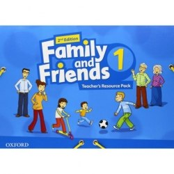 Family and Friends 1 (2nd Edition) Teacher's Resource Pack / Ресурси для вчителя