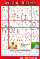 Плакат Writing Letters Chart Media