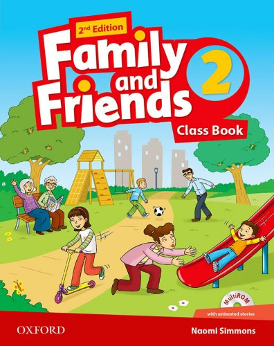 Family and Friends 2 (2nd Edition) Class Book and Multi-ROM / Підручник для учня