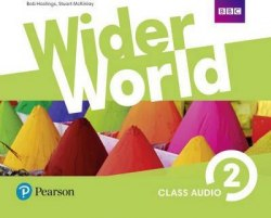 Wider World 2 Class Audio CDs Pearson