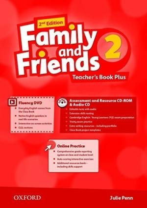 Family and Friends 2 (2nd Edition) Teachers Book Plus / Підручник для вчителя