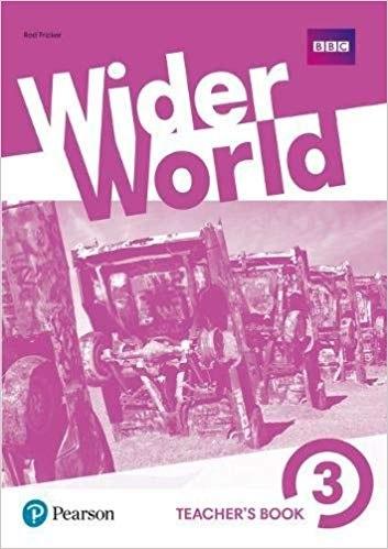 Wider World 3 Teacher's book with DVD / Підручник для вчителя